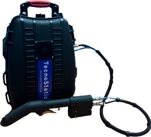 Pulverizador electrostático TS ME